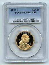 2007 S $1 Sacagawea Dollar PCGS PR69DCAM