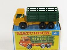 MATCHBOX Regular Wheels 04 Stake Truck MINT in Excellent F1 Box