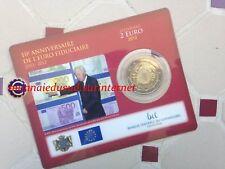 2 Euro CC Coincard BU Luxembourg 2012 - 10 Ans de l'Euro TYE