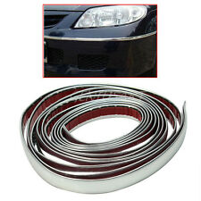 Durable 3m Silver Car Chrome Styling Decoration Moulding Trim Strip Tape 12mm