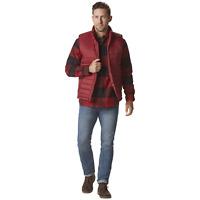 Nuvano Men's Big/Tall Puffer Vest Red 3XL #NO8H4-P5