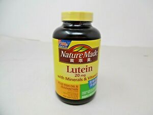 Nature Made Extra Strength Lutein 20 mg 150 Softgels Exp: 01/2022
