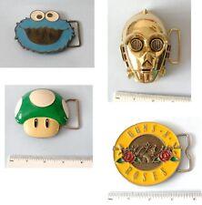 Cadeau Sesame Street Monster c3po Super Mario Champignon Guns N Roses Boucle de ceinture