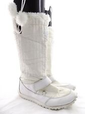 Timberland White Cold Weather Knee High Sneaker Sole Boots // Women's Size 8.5M