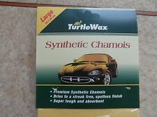 TURTLE WAX SYNTHETIC CHAMOIS LARGE SIZE 53CM X 48CM