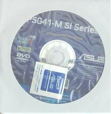 original asus Mainboard Treiber CD DVD P5G41-M Si Windows XP 7 Vista Sticker Win