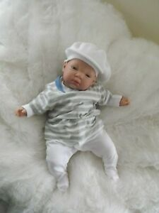 Baby Kids Boy Girl White Wool Beret Hat Cap Toddler Newborn Reborn Doll Clothes
