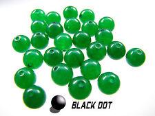 Naturstein Agate Perlen Rund ca. 20 Stück Grün 8mm Granit zur Schmuckherstellung