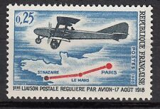 FRANCE TIMBRE NEUF N° 1565  **  AVIATION PARIS LE MANS PREMIERE LIAISON POSTALE
