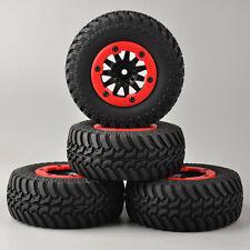 4X RC 1:10 Short Course Truck Tires&Bead-Lock Wheel 12mm Hex 4 TRAXXAS Slash Car