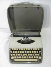 VINTAGE ADLER TIPPA 1 MANUAL PORTABLE TYPEWRITER MADE IN GERMANY NICE CLEAN