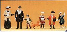 Winterliche Passanten  Um 1900 Preiser 12184 Figuren Spur HO (16,5 mm) Zubehör