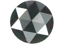 Natural Loose Diamond Blackish Green Color Round I3 Clarity 6.45MM 1.07 CT N6562