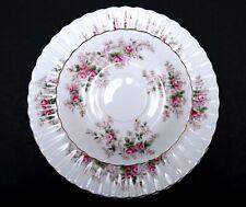 Lot of 6 - Royal Albert *LAVENDER ROSE* 3 Saucers 3 Salad/Dessert Plates