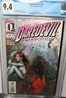 Daredevil #9 CGC 9.4 First Appearance Maya Lopez Echo Marvel Comics 12/99