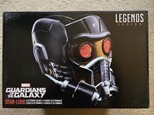 Hasbro Marvel Legends Star Lord Helmet Full Electronic Guardians Galaxy