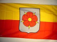Fahne Flaggen LIPPE MIT ROSE 150x90cm TDShop24