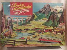 Rockey Mountain Train by Technofix Toys with Original Box 1965