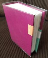 100 Book Bound Picture Photo Album (Fuchsia Festive)