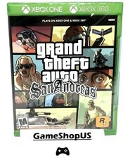 Grand Theft Auto San Andreas for Microsoft Xbox One Xbox 360 Gta Xb1 New Sealed