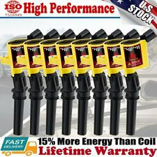 8 Ignition Coil Pack For Ford F150 Expedition 4.6L 5.4L 2000 2001 2002 2003 2004