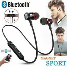 Bluetooth Wireless Headphones Magnetic Sports Gym Running Waterproof Earphones