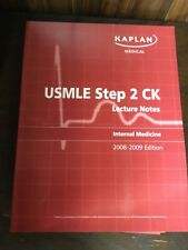 USMLE Step 2 CK Lecture Notes and Q-Book 2008-2009