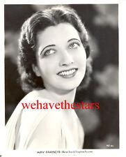 Vintage Kay Francis GORGEOUS BEAUTY '33 MARY STEVENS Publicity Portrait