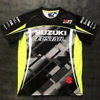 2019 NEW MOTO GP for SUZUKI GSX GSXR Motorcycle Riding Team Sports T-shirt Black