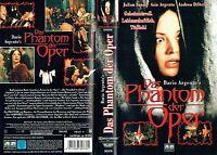 (VHS) Dario Argento's Das Phantom der Oper - Julian Sands, Asia Argento (1998)