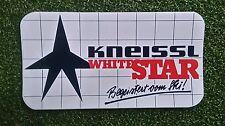 NOS 1980s Vintage Kneissl White Star SCI sticker