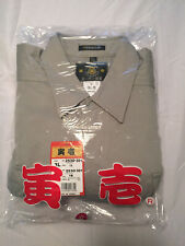Japanese Toraichi Shirt Jacket Beige Size 3L 2530-301New With Tags