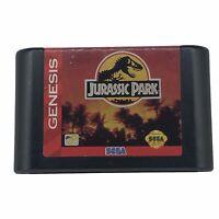 Jurassic Park (Sega Genesis, 1993) Cartridge Only Tested Works