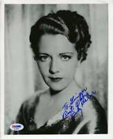Ruby Keeler Psa Dna Coa Hand Signed 8x10 Photo Autograph Authenticated