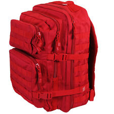 RED Molle RUCKSACK Military Assault Large 36L BACKPACK Tactical Army Day Pack