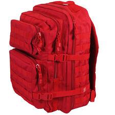 Rojo Molle Mochila Militar asalto grande 36l Día del Ejército Táctico Pack