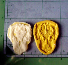 Filigree Leaf -Leaves Flexible Silicone Mold-Cake Cookie Crafts Cupcake Candy