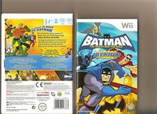 Batman The Brave and the Bold Nintendo Wii