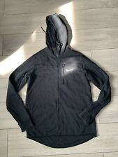 02 Nike Men's Black Zip Up Hoodie Size Uk M