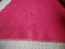 Precioso Crema D3044 ladrillo WAFFLE CORD Tela de tapicería 140 CM