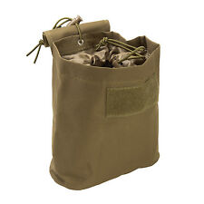 NcStar CVFDP2935T TAN Tactical PVC Small Utility Folding Dump Pouch