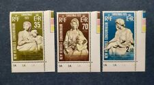 New Hebrides Stamps, Scott 201-203 Complete Set MNH