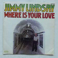 JIMMY LINDSAY Where is your love PB 9422 reggae