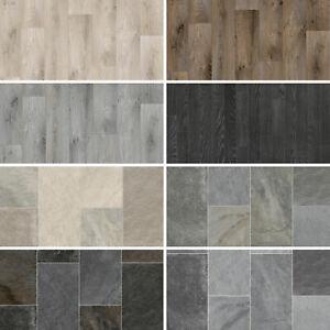 Wood Vinyl Flooring Tile CHEAP Kitchen Bathroom Cushioned Sheet Lino Plank Roll