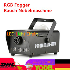 Nebelmaschine mit Fernbedienung LED Fog Machine Fogger Rauch Effektmaschine 500W