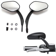 FOR HARLEY DAVIDSON ROAD GLIDE REAR VIEW SIDE MIRRORS TOURING MOTORCYCLE BLACK