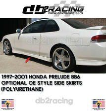 OE Optional-Style Side Skirts (Urethane) Fits 97-01 Prelude Side Skirts JDM VTEC