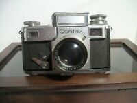 Zeiss Ikon Contax with Jena Sonnar 1:1.5 f=5cm Lens Matching Serial #'s E7710