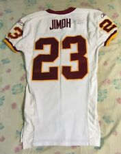 WASHINGTON REDSKINS SIGNED ADE JIMOH AUTHENTIC GAME USED JERSEY 2003 ROOKIE YEAR