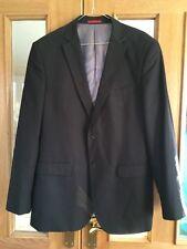 "Mens Brown Pascal Morabito Suit Jacket Size 44"" Chest"